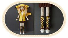 Девушка Пикачу крючком, часть 11 (Кеды). Crochet Pikachu girl, part 11 (...