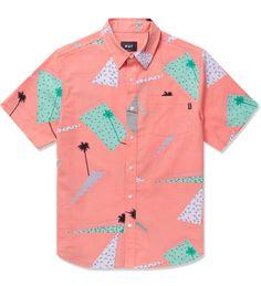 Peach 1986 S/S Woven Shirt by HUF
