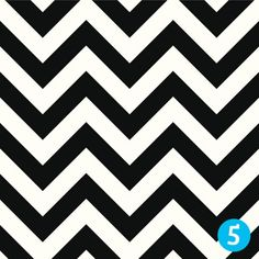 Pattern 5: The Black and White Zigzags