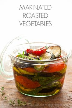 Garlic and Thyme Roasted Vegetables