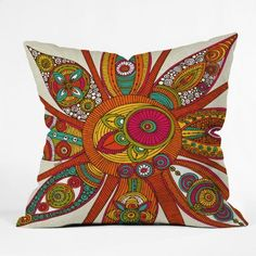 Another one I bought. Valentina Ramos Liora Throw Pillow, 16-Inch by 16-Inch by DENY Designs,
