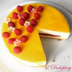 Le Citron - Framboise Rum Fruit Cake, Chocolate Fruit Cake, Fresh Fruit Cake, Chocolate Art, Raspberry Muffins, Raspberry Popsicles, Raspberry Cobbler, Raspberry Punch, Raspberry Cordial