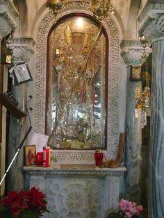 Miracle working icon of Saint Nektarios Russian Orthodox, Heaven Sent, Catholic Saints, Orthodox Icons, Byzantine, Holy Spirit, Christianity, Religion, Spirituality