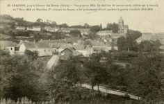 Carte postale du village de Craonne dans l'Aisne avant la première guerre mondiale.