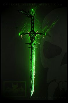 U n d e a d  Ritual Sword Design ~ by VeRCeline.deviantart.com on @DeviantArt