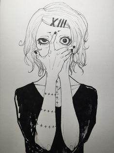 arte do fã de Juuzou de Tóquio Ghoul √A