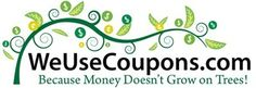 We Use Coupons frugality
