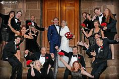 Kathy & Nick's January 2014 #wedding at St. Ladislaus Church, Rutgers University, and the Hungarian American Athletic Club! (photo by deanmichaelstudio.com) #njwedding #njweddings #winter #bride #groom #love #photography #deanmichaelstudio