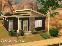 Your Sim has only 20 to engage in life? Found in TSR Category 'Sims 4 Residential Lots' Sims 4 House Plans, Sims 4 House Building, Sims 4 Ps4, Sims 4 Gameplay, Sims 4 Family House, Play Sims 4, Affordable House Plans, Sims 4 House Design, Casas The Sims 4