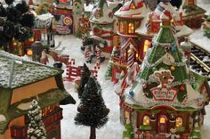 Rudolph's Village...this village is great!