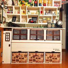 My Shelf/IKEA/100均/リメイク/セリア/白黒...などのインテリア実例 - 2015-03-15 00:24:38 | RoomClip (ルームクリップ)