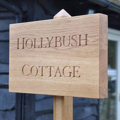 A stunning ,bespoke, hand carved house sign. The options are.... Single sign with up to 10 letters engraved £195 Single sign with up to 15 letters engraved £215 Single sign with up to 20 letters engraved £235 Sign on one post with up to 10 letters engraved £245 Sign on one post with up to 15 letters engraved £270 Sign on one post with up to 20 letters engraved £295 Sign on two posts with up to 10 letters engraved £295 Sign on two posts with up to 15 ...