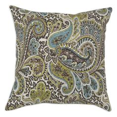 Brite Ideas Living Paisley Down Decorative Pillow - CW19K2160