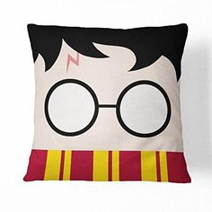 Guse case Funny Harry Potter Cotton Throw Pillow Case Home Custom Cushion Cover 18 X 18 Inch One Side Harry Potter Diy, Harry Potter Pillow, Harry Potter Marauders Map, Harry Potter Classroom, Harry Potter Bedroom, Theme Harry Potter, Custom Cushion Covers, Custom Cushions, Harry Potter Party Supplies