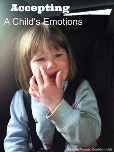 Creating bonds: Accepting a Child's Feelings ~ Peaceful Parents, Confident Kids