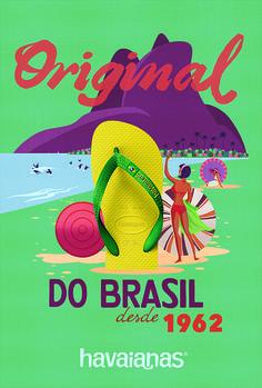 Discover the Brazil of the 60s: http://original.havaianas-store.com/ #TheOriginal #HavaianasHistory