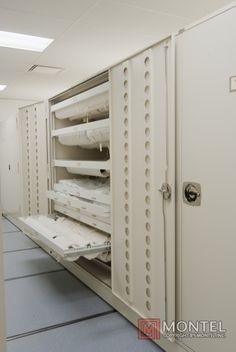 Textile Cabinet Storage for Museum