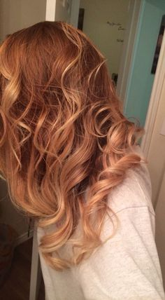 Strawberry hair