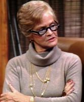 """Carol Bruce -- (11/15/1919-10/9/2007). American Singer & Actress. She portrayed Mama Carlson on TV Series """"The New & Original WKRP in Cincinnati"""", Margaret/Mrs. 'Muffy' Endicott on """"Perfect Strangers"""", Mrs. Annette Cunningham on """"Knots Landing"""", Herself on """"The Ed Sullivan Show"""" Movies -- """"Planes, Trains & Automobiles as Joy, """"American Gigolo"""" as Mrs. Sloan. She died from (COPD) Chronic Obstructive Pulmonary Disease, age 87. Born: Shirley Levy."""