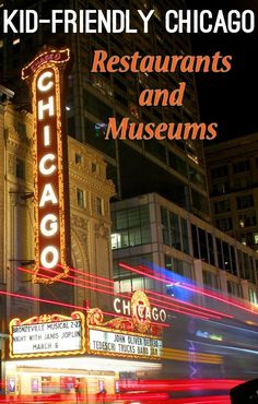 Kid-Friendly Chicago Restaurants and Must-See Museums - Traveling Mom Kids Restaurants, Kid Friendly Restaurants, Chicago Vacation, Chicago Trip, Chicago Travel, Travel With Kids, Family Travel, Kid Friendly Vacations, Family Vacations
