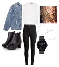 """Untitled #408"" by citlalymichel ❤ liked on Polyvore featuring H&M, Topshop and The Horse"