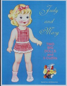 judy and mary paper dolls | Judy and Mary | Paper Doll - 6 | Pinterest