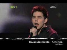 David Archuleta singing Sweet Caroline and America