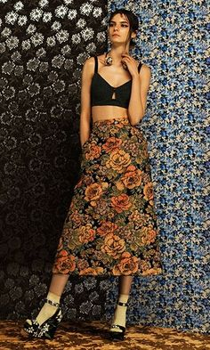 Those seventies vibes mixed with a little 21st century attitude. Shop that Flower Power at Farfetch