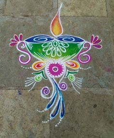 Rangoli Designs easy and simple