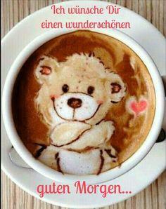 Cappuccino - Latte bear art by Japanese latte artist Mattsun Coffee Latte Art, I Love Coffee, Coffee Cafe, Coffee Break, My Coffee, Coffee Drinks, Coffee Shop, Cappuccino Art, Sweet Coffee