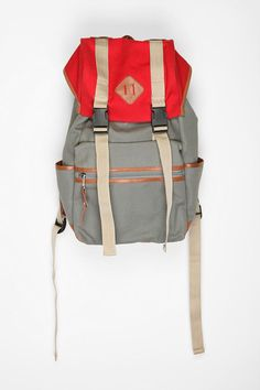 ecote colorblock hiking backpack