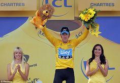 Tour de France 2012   Wiggins celebrates