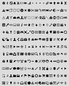 Vector Icons Helvetica | Recursos 2D.com