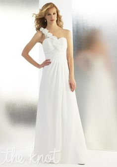REALLY LOVE IT....but its sooo simple :( Gown features open back and detachable strap.