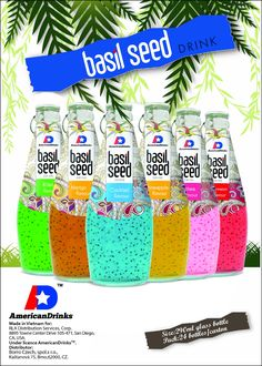 First six Basil seeds Prvni bazalkove napoje
