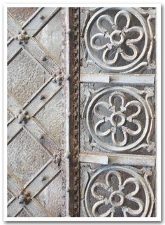 close up of an old iron gate in florence, italy #irresistiblyitalian