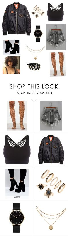 """""""Untitled #94"""" by gissellebeltre on Polyvore featuring Pepper & Mayne, ASOS, CLUSE and Valentino"""