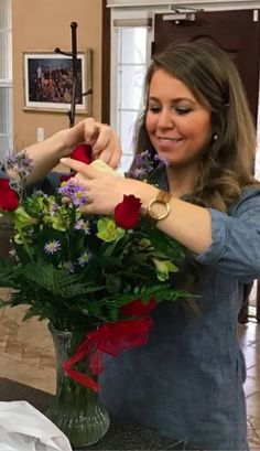 "19kidsandloving: ""'Here's a sweet twist on Valentine's Day! We are having a family-wide party celebrating love….God's love and our love for one another. Our theme is ""We love because He first loved us!""' Duggar FB """