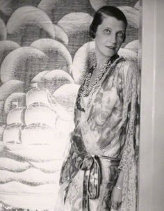 Daisy Fellowes. Photo by Cecil Beaton. c. 1920s.