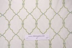 Richloom Signet Solarium Collection Outdoor Sheer Fabric in Spring $22.89 - $8.95 per yard, 2 yards, plus shipping