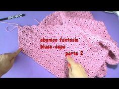 Blusa triangular, fácil de tejer GANCHILLO PARTE 2 (+playlist)