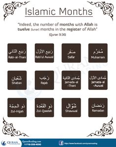 The History And Great Importance of Islamic Months #islamic