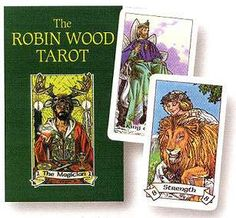 Robin Wood Tarot by Robin Wood   bought the first one unpacked at the store 1989.  I still own it with pride!