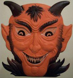 Vintage Halloween Diecut - Devil  #vintagehalloween