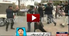 Two Students Group clashed with Eachother in Islamia College Unviersity Peshawar Dailymotion Clips