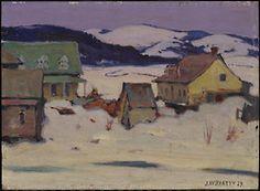 Baie St. Paul, 1929 John William Beatty, Canadian, 1869 - 1941 Oil on panel ©2012 Art Gallery of Ontario