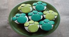 Guests will dive paws-first for these tasty Creature Power creations. Kids Birthday Cupcakes, Wild One Birthday Party, 6th Birthday Parties, Birthday Stuff, 4th Birthday, Birthday Ideas, Birthday Cake, Cupcake Recipes For Kids, Kids Party Themes
