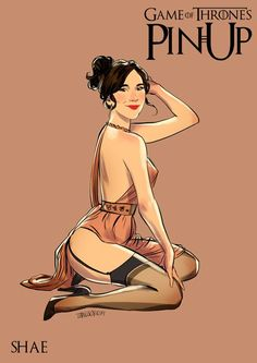 These 15 Game Of Thrones Pin-Up Girls Are Just Absolutely Stunning.