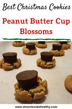 Want an easy, and healthy, peanut butter blossom cookies recipe that kids love and you'll approve of as a mom? This simple vegan recipe will prove itself as the best healthy holiday treats you've had! Healthy Vegan Desserts, Vegan Dessert Recipes, Vegan Recipes Easy, Baby Food Recipes, Chocolate Christmas Cookies, Best Christmas Cookies, Peanut Butter Blossom Cookies, Vegan Peanut Butter, Cookies For Kids