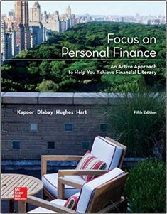 Focus On Personal Finance 5th Edition Kapoor PDF, Epub Ebook